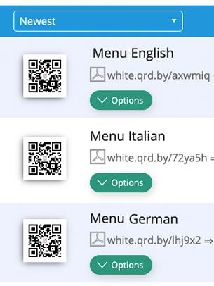 Create PDF QR Codes